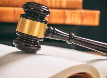 law gavel judge book