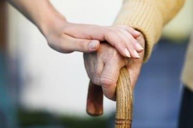 elderly cane