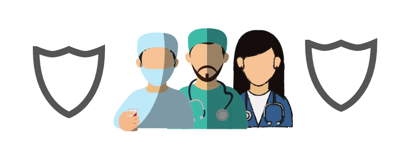 graphic of doctors and dentists